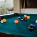 Bokeh Shot of Billiard Balls