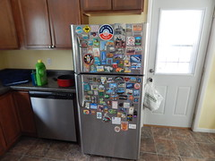 DSCN8976 (mestes76) Tags: 012018 duluth minnesota house home kitchen magnets refridgerator fridge