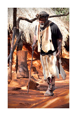 The King (The Spirit of the World ( On and Off)) Tags: southafrica king royalty tribe village africa hut earth lccal character nativedress