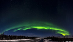 Z19_0712-Pano-Edit-2 LT (Zoran Babich) Tags: winter snow lapland lappi finland suomi northernlights auroraborealis