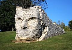 Wyandot Chief Leatherlips Sculpture ~ Dublin, Ohio (1coffeelady) Tags: sculptures indian indios letherlips chiefleatherlipsmonument dublinohio sculpture nativelimestoneslabssculpture wyandotindianchief chiefshateyahronya artistralphhelmickchiefleatherlip sciotoparkohio roundhead wyandotnativeamericanleader tha‑tey‑yan‑a‑yoh sou‑cha‑et‑ess wynadotporcupineclan wyandotwarriorstoroundheadsplitlogandbattise treatyofgreenville tenskwatawatheprophet williamhenryharrison tecumsehsconfederacy johnsells olentangyindiancaverns delawareandunioncounties frankincountyohio unioncountyohio delawarecountyohio dublinohiosculptures dublinohioroadtrip ohioroadtrip sightseeing walkingtrails nativeamericansculpture wyandotnativeamericansculpture
