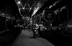 'Evening Inspection' (Andrew@OxfordPart2) Tags: great western railway didcot centre steam locomotive engine shed burton agnes hall timeline events