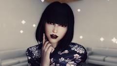72850_20190309190221_1 (SasakiPajero) Tags: screenshot skyrim scrolls snapdragonprimeenb shorthair tes tesv eyes maiden girl portrait videogame v enb