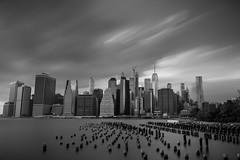 Manhattan (chayawita) Tags: newyork ny nyc blancoynegro longexposure manhattan canon canonistas canonespaña canonusa usa travel blackandwhite