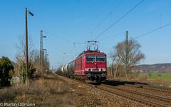 250 137 mit DGS 99852 NSH - LBT in Leißling (Emotion-Train) Tags: 250137 155 container leg leisling kesselzug 137 leipziger straubing frankenwald saaletal bahn