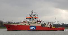 EDT PROTEA (kees torn) Tags: edtprotea boskalis hetscheur maassluis offshore
