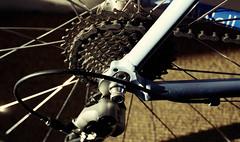 bike (bluebird87) Tags: bike gears film dx0 c41 epson v800 kodak ektar nikon f5 lightroom