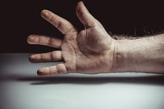 Hello! (donnicky) Tags: closeup fingers hand humanbodypart indoors publicsec shadow studioshot wrist