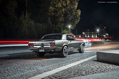 grey 1967 Ford Mustang Coupe - Shot 5 (Dejan Marinkovic Photography) Tags: 1967 american automotive car classic coupe ford mustang ponycar strobist night dark lights