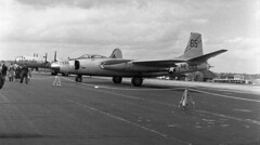 Alf061  North American B-45 Tornado US Air Force BE-065 Plane Photo's by Alf Jefferies (Photos by Alf Jefferies) Tags: planes aircraft bentwaters photos by alf jefferies usaf cold war nato air arm england b45tornado usaftornadobe065