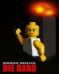 LEGO Die Hard (40gOingOn4!) Tags: die hard lego movies movie poster film minifigure minifigures toys toy macro nikon d7100 105mm uk rob robert trevissmith