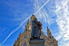 Dresden - Martin Luther vor der Frauenkirche (www.nbfotos.de) Tags: dresden anderfrauenkirche neumarkt frauenkirche martinluther denkmal monument statue skulptur sculpture