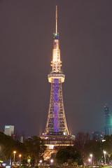 名古屋テレビ塔 Nagoya TV Tower (ELCAN KE-7A) Tags: 日本 japan 愛知 aichi 名古屋 nagoya テレビ塔 tv tower イルミネーション ライトアップ illumination ペンタックス pentax k3ⅱ 2018 栄 sakae