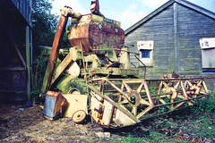 Classic Combine (SR Photos Torksey) Tags: vintage classic combine harvester new holland clayson claeys farm farming agriculture