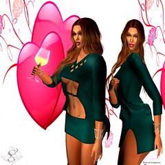 DS Arcane_002 (parisevermore) Tags: designershowcase arcanespellcaster obf analogdog slackgirl meva hair dresses mini fashion sl secondlifeevents virtualworld virtualfashion