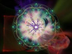 Mandala 224 (karl_eschenbach) Tags: mandala buddha spirituality digitalart apophysis photoshop abstract