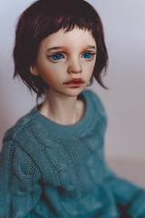 first handmade eyes († Jack †) Tags: resineyes bjd abjd dimdoll dimdollannabeth doll portrait