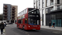 12283, SN14TXB on 75 at Lewisham Station (EastBeckton372) Tags: sn14txb 12283 75