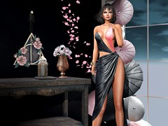 ♥ (♛Lolita♔Model-Blogger) Tags: lolitaparagorn unitedcolors dahlia blog blogger beauty blogs bodymesh bento collabor88