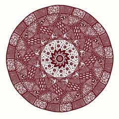 Mandala Doodle (Redcognito) Tags: art artwork mandala doodle doodling patterns drawing artflow radialsymmetry digitalart zentangle samsunggalaxytabs4 kaleidoscope biart20022019