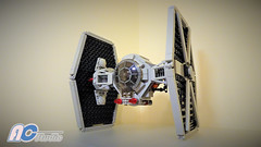 Lego | Modified Star Wars Tie Fighter (75237) (AC Studio) Tags: custom 75237 fighter star modified wars tie lego brick moc building toys toy