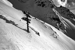 _DSC0580-copy (Jason Hummel Photography) Tags: timblack blackandwhite powder skiing ski skier cascademountains mountains pnw pacificnorthwest northtwinsister