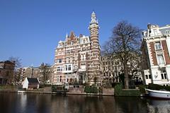 Amsterdam2014_163 (schulzharri) Tags: amsterdam holland niederlande netherlands europ europe flus river water building house haus sun sonne sky himmel blau blue