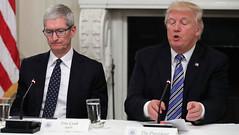 "Donald Trump goes viral again after referring Apple CEO Tim Cook as ""Tim Apple"" (Mobile_Game_ Hunter) Tags: trump maga memes meme america usa donaldtrump republican funny conservative dankmemes politics"