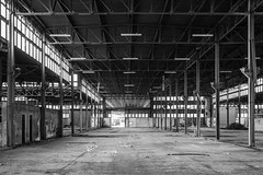 They left (The Urban Tourist) Tags: urbanexploration urbex abandoned industrial abandonedfactory