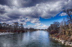 Snake river (Pattys-photos) Tags: snake river ririe cloudy winter idaho pattypickett4748gmailcom pattypickett