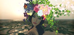 Days Of Spring (Nancy Sinatra photography) Tags: spring flowers buds days second life avatar woman lady photo picture art