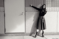 Risa Hoshi (iLoveLilyD) Tags: 2018 za portrait ilce9 a9 sonnartfe35mmf28za sel35f28z sony mirrorless vscofilm03 felens ilovelilyd px100uv carlzeiss bw fullframe primelens 35mm α emount sonnar3528za α9 sonnartfe2835 tokyo japan 東京都 日本 jp