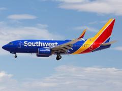 N7855A (ChrischMue) Tags: southwest airlines boeing b73779pwl las vegas mccarran international klas n7855a