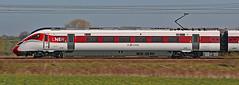 Speeding Azuma (gareth46233) Tags: 800113 lner azuma grove road retford 5q13 ecml