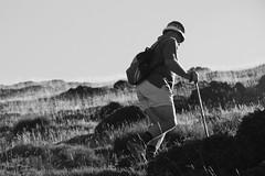 Un camino que no termina (Kasabox) Tags: recuerdo memory nostalgia people friend amigo montseny montaña mountain walk caminar camino amistad friendship bn bw black white blanco negro