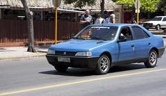 Peugeot 405 Taxi (Loops666) Tags: peugeot 405 car european french cuba road street taxi blue sedan 80s 90s