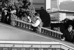 Return Last Year's Arrows (RunnyInHongKong) Tags: silverfast hieshrine ilfordddx opticfilm120 hiejinja akasaka japan nikkor50mmaff14d tokyo selfdevelop blackwhite minatoku film 35mm nikonf100 ilfordfp4plus