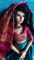 Indian girl (D.Maula) Tags: asiandolls dolls doll lutsdoll lutsbjd bjd bjds cerberusproject delflishe luts delf lishe lishetanning lishetan tanlishe saree indian clothes