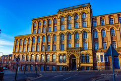 Wigan 09 Jan 2019 00134.jpg (JamesPDeans.co.uk) Tags: mill goldenhour forthemanwhohaseverything england wigan gb printsforsale windows factory unitedkingdom commerce britain brickbuilt lancashire wwwjamespdeanscouk europe architecture greatbritain landscapeforwalls jamespdeansphotography uk digitaldownloadsforlicence