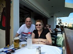 Us two...Crete (HerandMe2019...Please Read Profile) Tags: couple love lovers older younger granny cougar women woman mature male relationship travel europe greece crete holiday amateur attractive