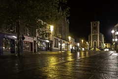 Keswick at Night (Durham George) Tags: keswick lakes derwentwater rain night