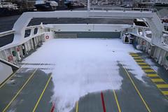 Dekk (Bergenships) Tags: kommandøren kommandoren fjord1 zerocat120 fjellstrand ferge ferje carferry ferry ship bergen tysnes halhjem våge