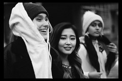Now United (TheJennire) Tags: photography fotografia foto photo canon camera camara colours colores cores light luz young tumblr indie teen adolescentcontent heyoonjeong shivanipaliwal sinadeinert nowunited toronto canada popgroup 2018 winter celebrity singers people blackandwhite blackframes