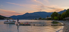 Sunset Fishing (Nidri Bay - Lefkas) Canon EOS 7D DSLR (markdbaynham) Tags: greece greek hellas hellenic lefkas lefkada grecia greka sky view canon canonite eos 7d eos7d canon7d apsc dslr landscape ionian island greekisland greekholiday