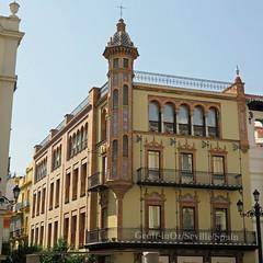 Álvaro Dávila House* (fmr), Seville, Spain (geoff-inOz) Tags: architecture seville heritage building historic andalusia spain aníbalgonzález alvarodávila marquésdevillamarta