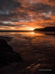 Sunset over Caswell Bay 2019 01 25 #55 (Gareth Lovering Photography 5,000,061) Tags: sunset sun sunny sunshine caswell gowercoast gower swansea wales seaside landscape beach walescostalpath olympus penf garethloveringphotography