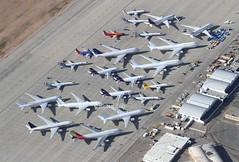 "Victorville    ""Aircraft Storage"" (Flame1958) Tags: victorville vcv kvcv victorvilleairport southerncalifornialogisticsairport scla 130418 0418 2018 georgeairforcebase georgeafb aircraftstorage aircraftboneyard boneyard 7388"