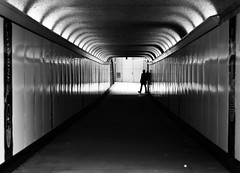 (Lucie Guinjard) Tags: london travel black tunnel