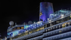 the arcadia at pier 27 (pbo31) Tags: bayarea california nikon d810 color night dark black january 2019 boury pbo31 sanfrancisco littleitaly embarcadero arcadia cruiseship port pier27 sail harbor travel