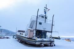_ROS5064-Edit.jpg (Roshine Photography) Tags: transportation yukonriver ferry yukonquest boats winter yukonterritory ferryboat dawsoncity yukon canada ca